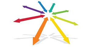 rainbow-arrows